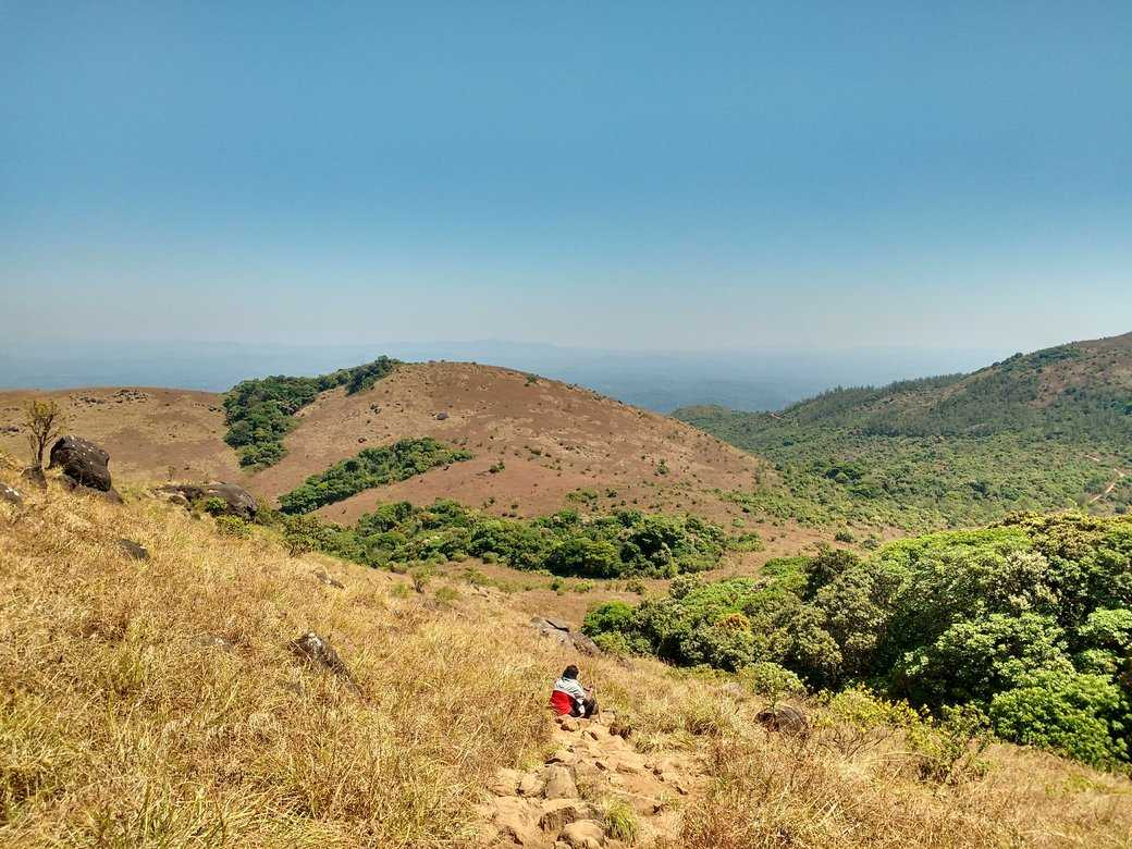 Trail after big rock