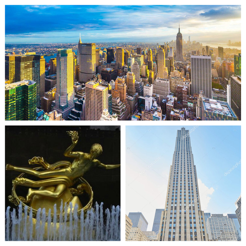 Rockefeller Center and Top of the rock